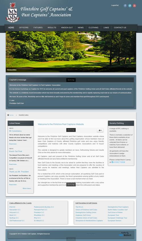 Flintshire Golf Captains