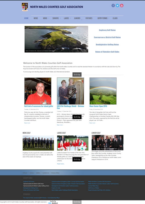 North Wales 4 Counties Golf Association