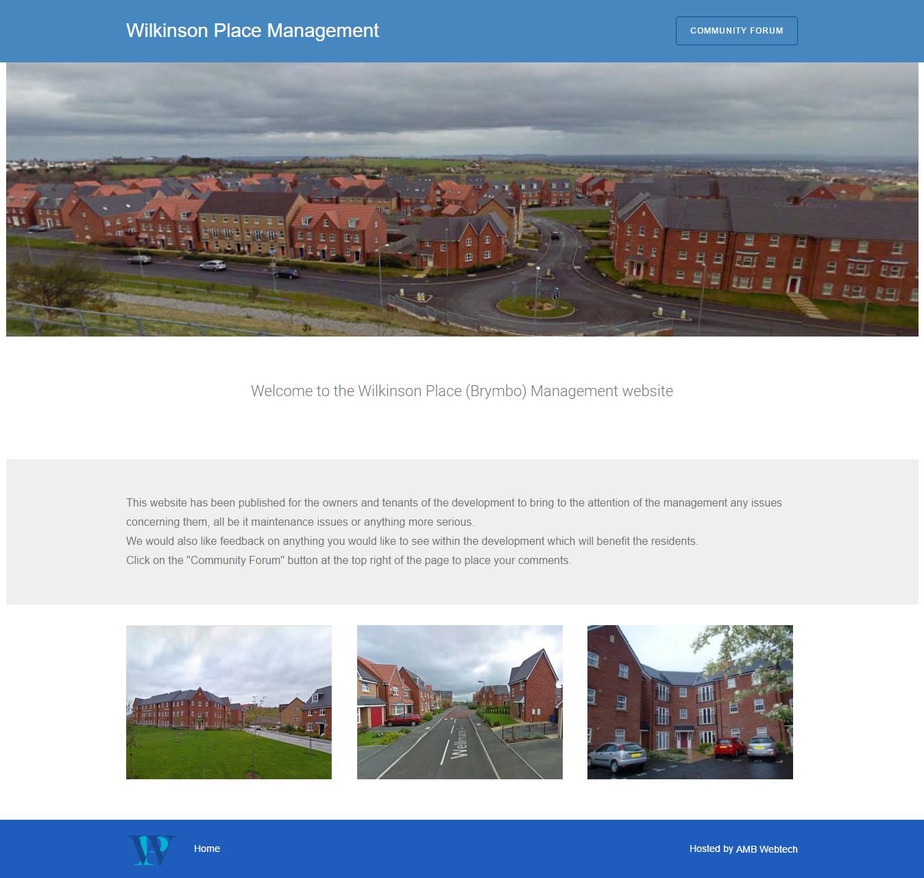Wilkinson Place Management